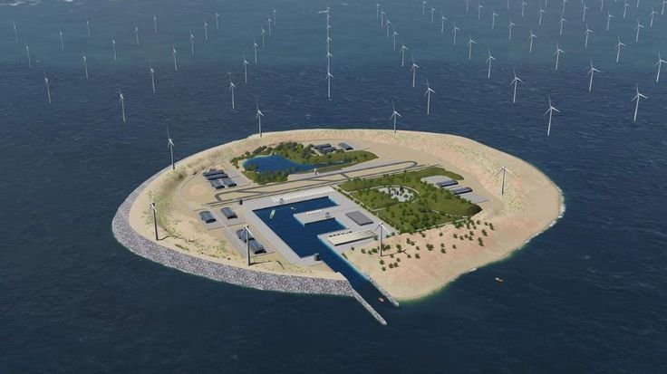 Artificial 'Power Islands' to Be Built, Pull Wind Power From Europe's North Sea | The Weather Channel