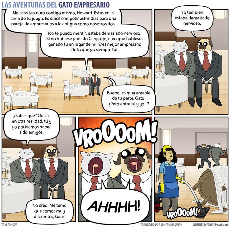 Business Cat - Después del Resultado
