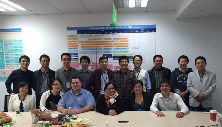 Part of this weeks team Asia Info/Telenor