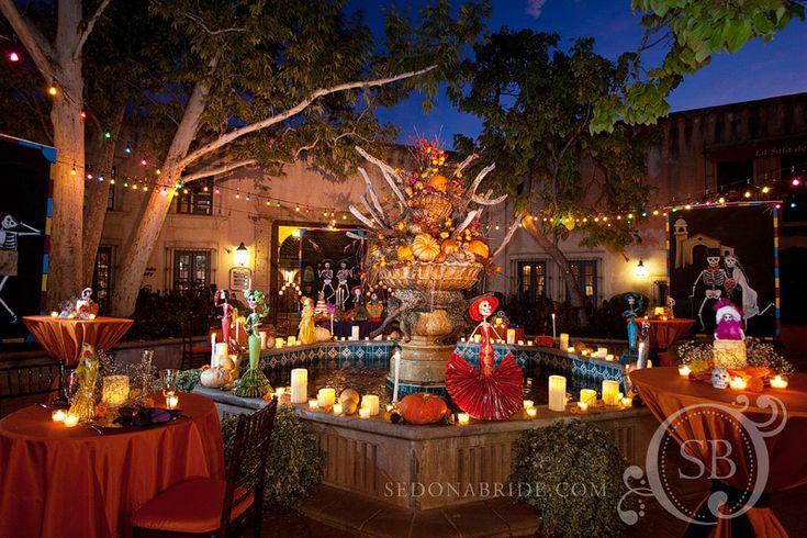 DIA De Los Muertos Wedding | Tlaquepaque Celebrates Dia de los Muertos | Sedona Wedding Studio