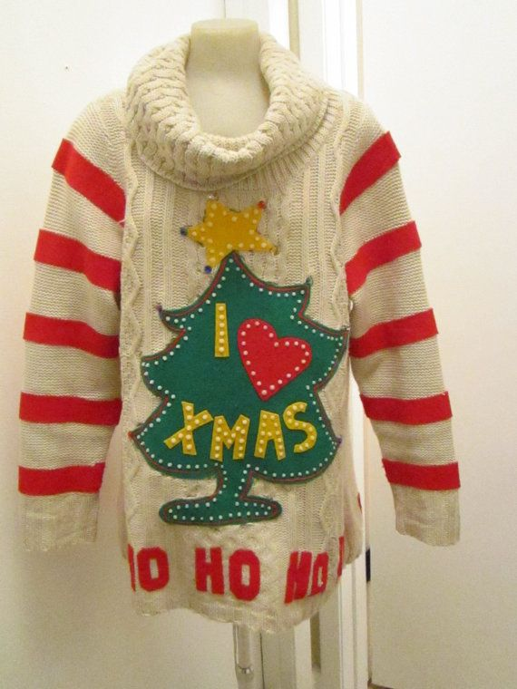 Hmm, ugly sweater party, DIY possibly?  reminds me of the Grinch's sweater!