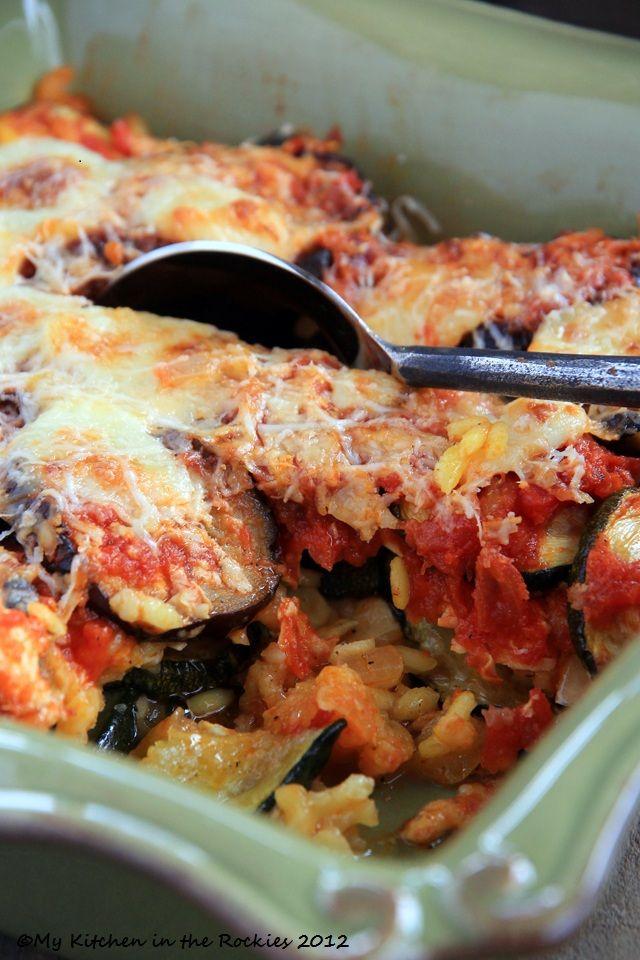 Roasted Veggie Rice Bake: Food Recipes, German Recipes, Brown Rice, Rice Baking, Food Blog, Roasted Vegetables, Veggies Baking, Veggies Rice, Roasted Veggies