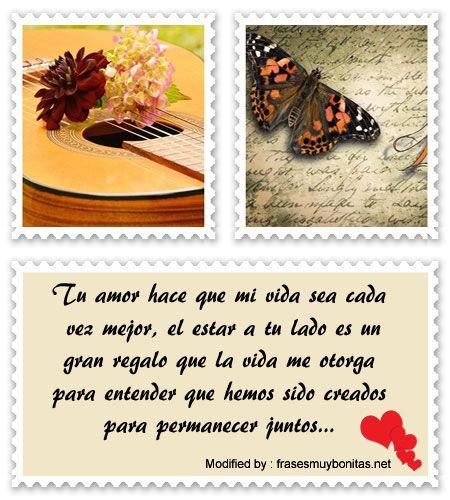 palabras originales de amor para mi pareja,textos bonitos de amor para whatsapp:  http://www.frasesmuybonitas.net/bonitas-frases-de-amor-gratuitas-para-la-pareja/
