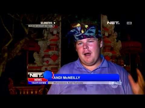 12 Mahasiswa Asing Pejalari Tari Bali - NET16 - YouTube