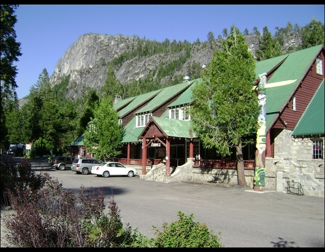 Strawberry Lodge ~ Off Highway 50 on the way to Lake Tahoe ~ Sits on the banks of the American River