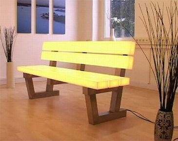 Light Bench By Frellstedt, Germany