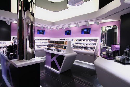 Kiko make up milano store design make up store for Milano design shop