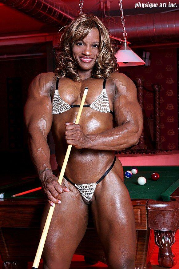 beautiful nude ebony body builders - monique hayes bodybuilder - Google Search