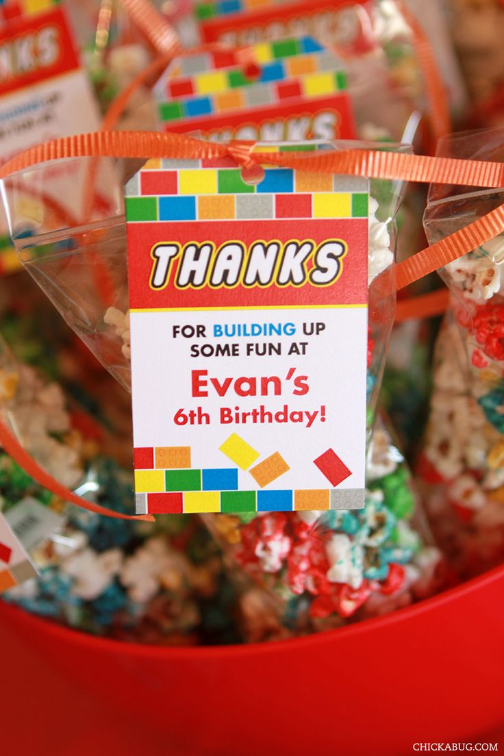 Best 10+ Lego party favors ideas on Pinterest | Lego decorations ...
