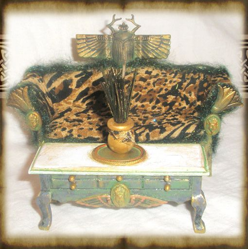 34 Best Images About Miniature Egyptian Furniture On