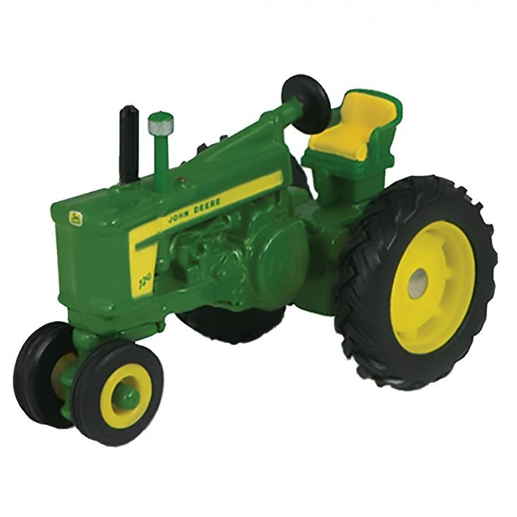 ERTL Toys John Deere Vintage Tractor This Scale 720 Toy Measures Approximately