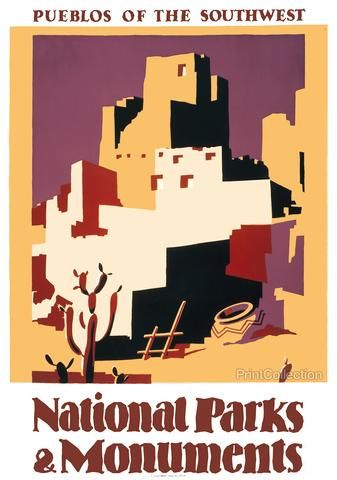 National Parks and Monuments Pueblos of the Southwest