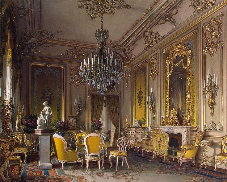 Luigi Premazzi  Mansion of Baron A.L. Stieglitz. The Drawing-Room