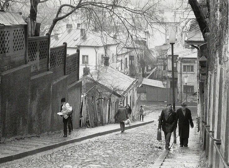 Scăricica din cartierul Uranus în 1984, înainte de demolarea completă a zonei pentru ridicarea Casei Poporului. Source: Radu C. Dumitru