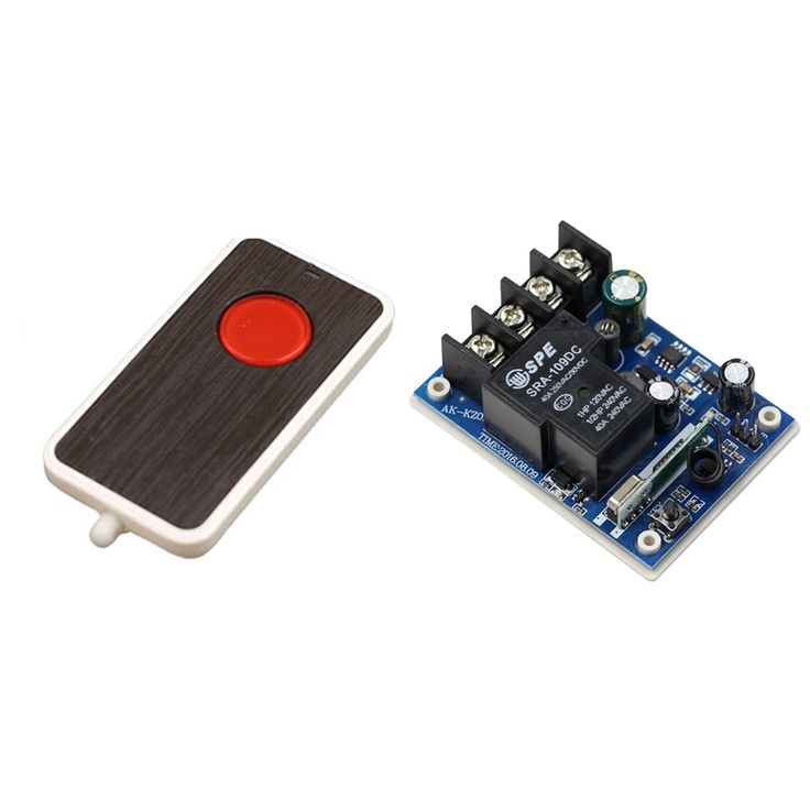 11.51$  Buy here - Smart Home DC12V 24V 36V 48V 30A 1CH RF Remote Control Switch System Transmitter with Receiver 1CH Relay For Lamp or Window  #buychinaproducts