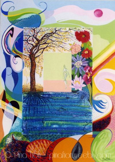 Le 4 stagioni - Ritratto di Celeste M. #le4stagioni #gallery #art #nature #painting #colors
