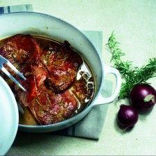Hamlapjes met rozemarijn en honing #recept