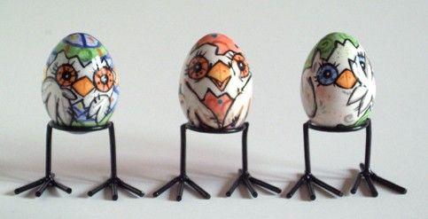 Easter eggs!Whimsical Work, Easter Eggs, Furries Godmother