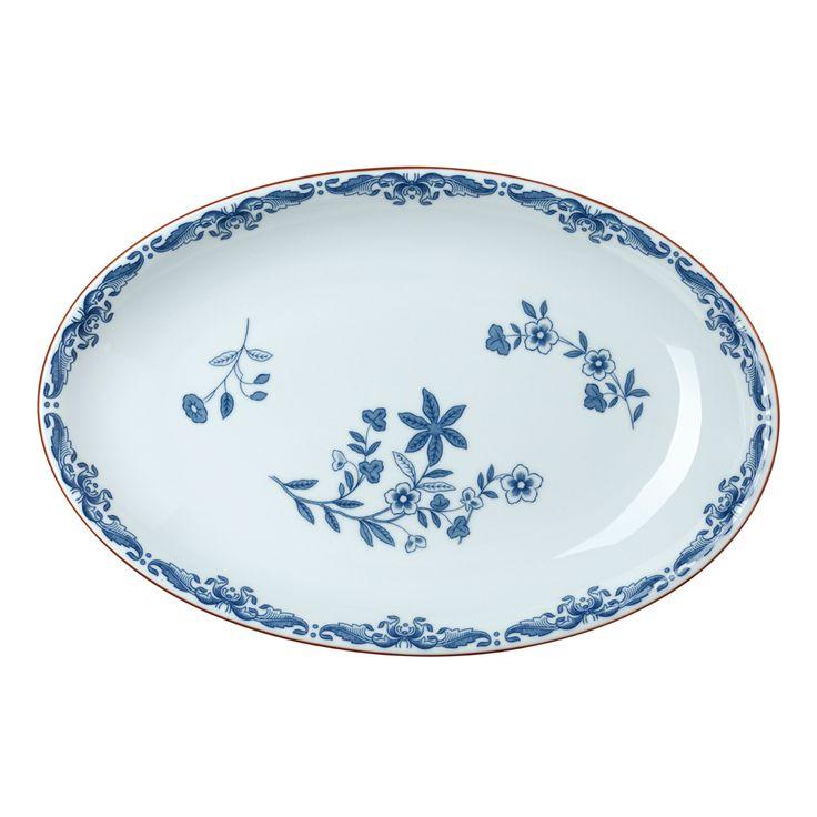 Rörstrand - Oval serving dish 33x22 cm