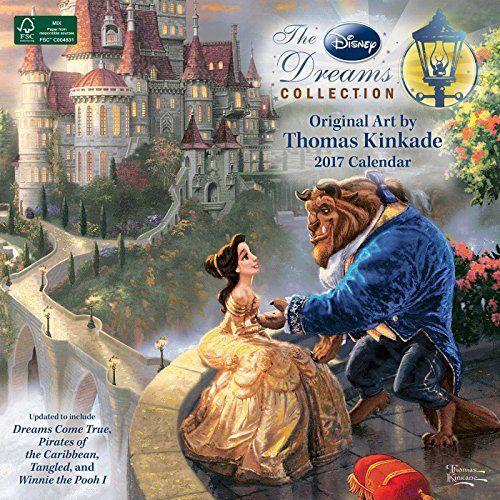 Thomas Kinkade: The Disney Dreams Collection 2017 Calendar