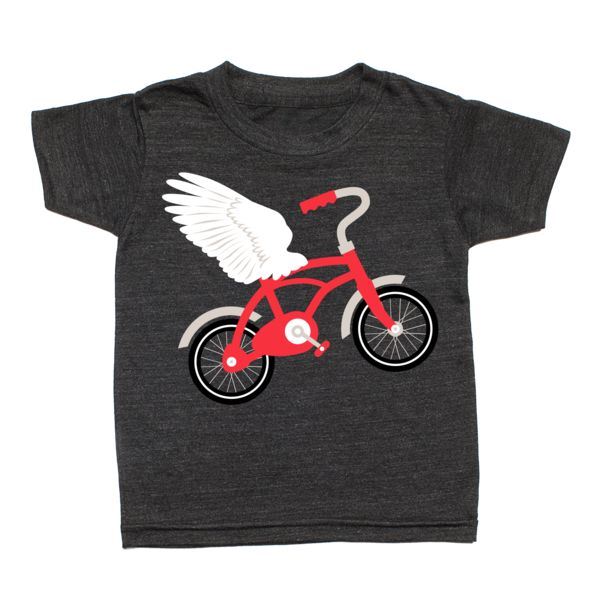 Flying Bicycle T-Shirt from Whistle & Flute, available at Modern Rascals