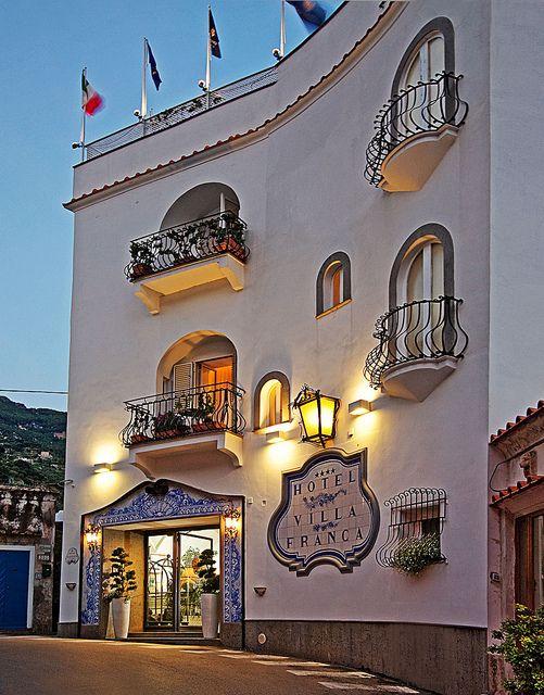 Hotel Villa Franca - Positano, Amalfi Coast