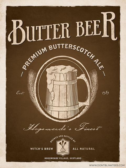 Butterbeer vintage advert