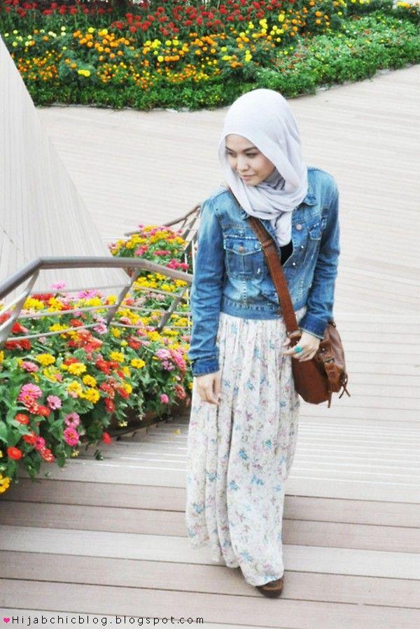 Hijab style by dalillah ismail