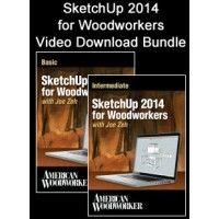 SketchUp 2014 for Woodworkers Video Download Bundle   ShopWoodworking
