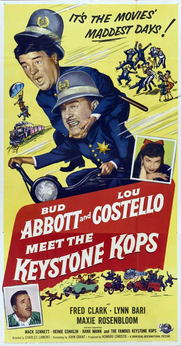 Abbott and Costello Meet the Keystone Kops 1955 http://benny-drinnon.blogspot.com/search?q=Charles+Chaplin