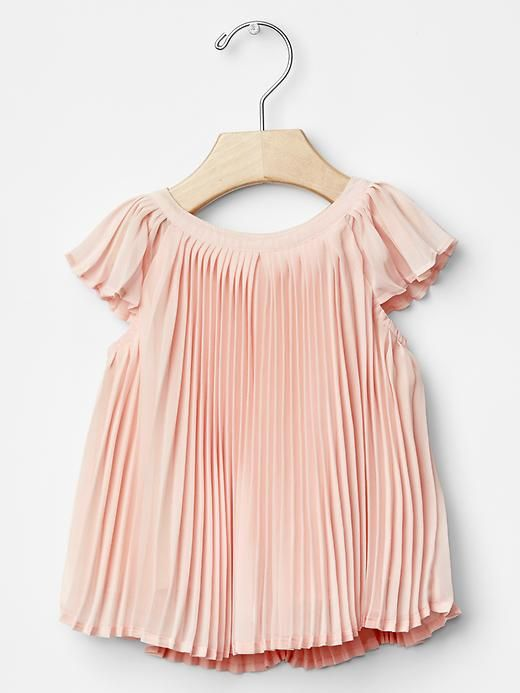 Flowy pleat top