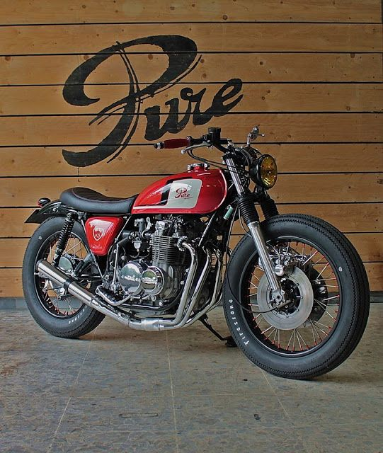 """Honda Brat Style #25 """"Time Less"""" by Pure Motorcycles #bratstyle #motos   caferacerpasion.com"""