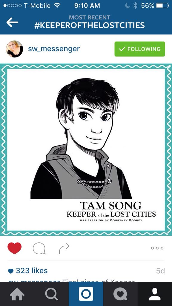 Tam Sing From Keeper Of The Lost Cities NEVERSEEN