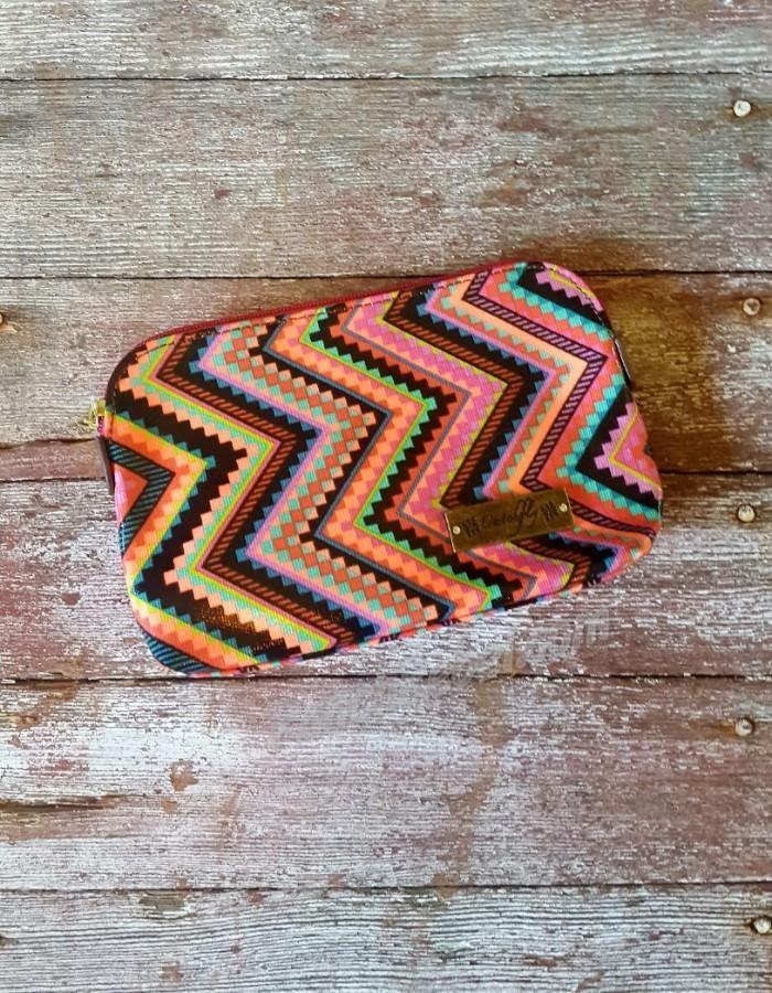 Rayna Pink Small Cosmetic Bag #1802