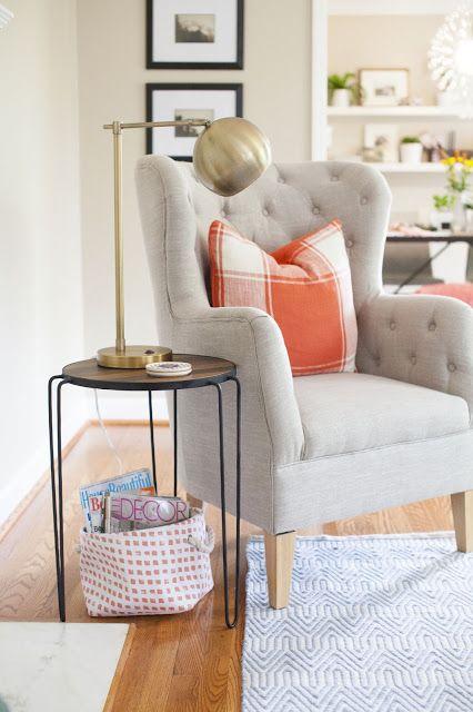 modern traditional living room, transitional decor, decor, interior design, living room, blue and grey living room
