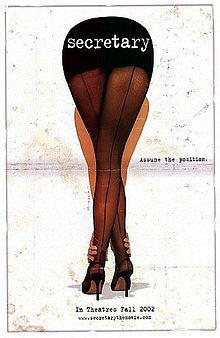 Secretary is a 2002 independent film directed by Steven Shainberg and starring Maggie Gyllenhaal as Lee Holloway and James Spader as E. Edward Grey. The film is based on a short story from Bad Behavior by Mary Gaitskill, [1] and explores the relationship between a sexually dominant man and his submissive secretary.