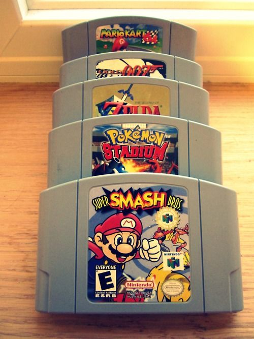 It was some much fun to play these with my cousin. Especially Mario Kart 64 and GoldenEye 007.