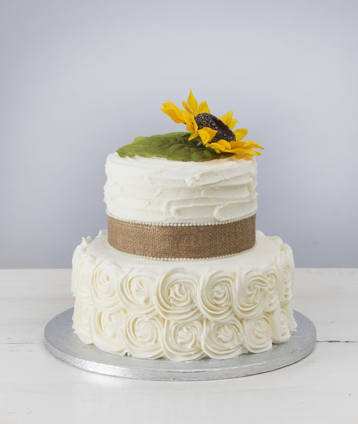 """""""Sweet Melissa"""" with Rosette Tier from Martin's Bake Shoppe"""