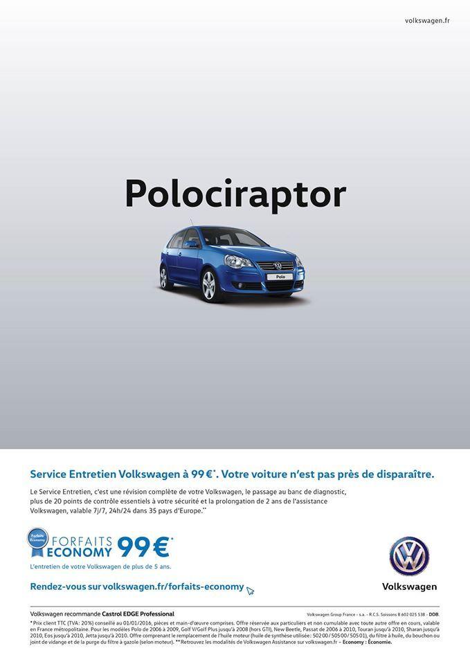 #VW Polociraptor #jetudielacom