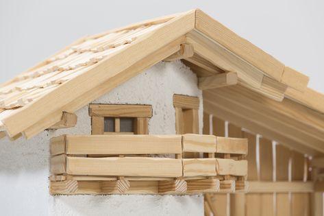 Selbst Ist Der Mann Bauplan Bergkrippe 12 2017 Holz Muster