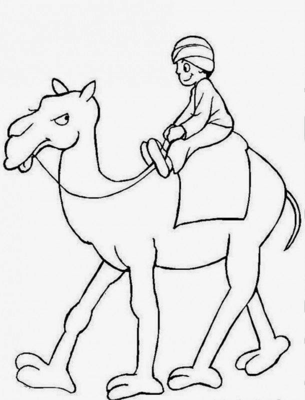 18 best Camel Coloring Pages images on Pinterest Camels