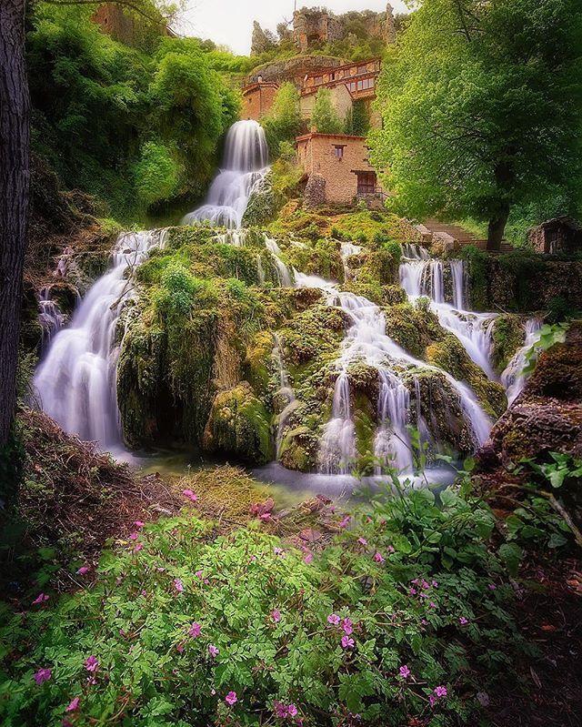 Orbaneja Castle (Orbaneja del Castillo), Spain. Photo by ©@manuelo_bo #Places_wow