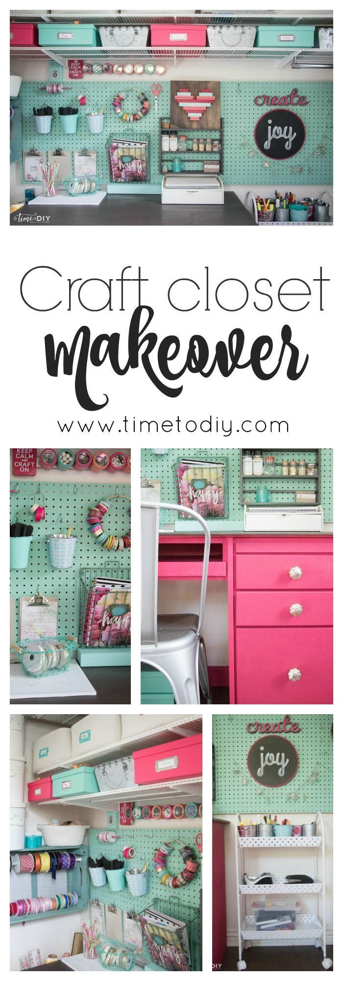 Best 25 closet desk ideas on pinterest closet office desk nook and desk in a closet - Keep your stuff organized with bedroom closet organizers ...