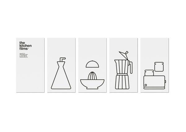 The Kitchen Films by Jorge Alavedra, via Behance
