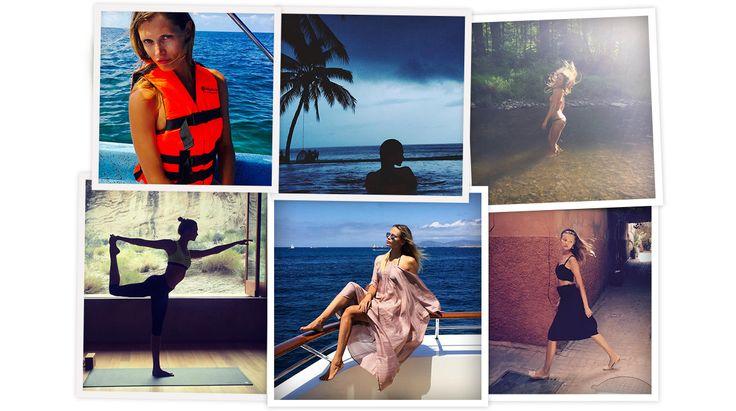 Natasha Poly sur un yacht au large d'Ibiza, Kendall Jenner dans une piscine à Saint-Barth, Magdalena Frackowiak dans les dédales marocains…  A J-10 de la Fashion Week printemps-été 2016, les tops en vogue profitaient de leur dernière semaine de vacances aux quatre coins du globe. L'occasion de revenir en images sur leurs meilleurs moments estivaux sur Instagram, avant le grand marathon mode de septembre.