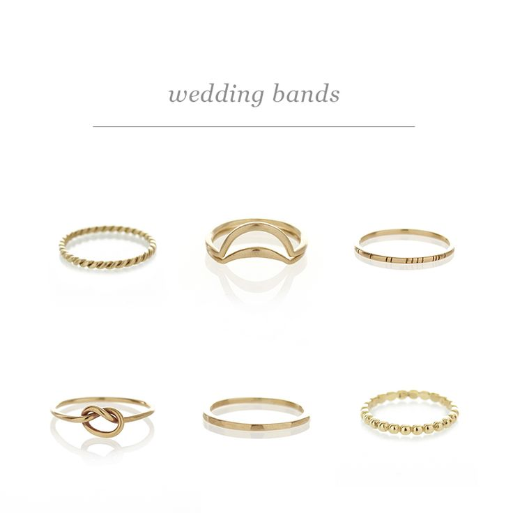 Wedding Bands | Dear Rae | Online Shop
