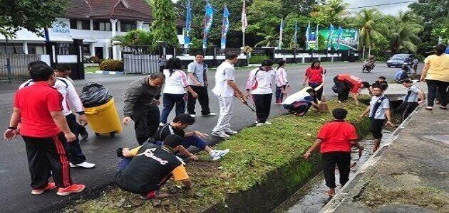 موضوع تعبير عن النظافة البيئية Manado Microfiber Environment