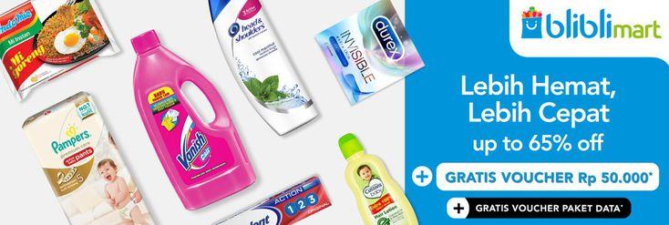 Promo Belanja Mudah dan Cepat di Bliblimart, Diskon Hingga 65% dan Banyak Bonus Lainnya - PriceArea.com