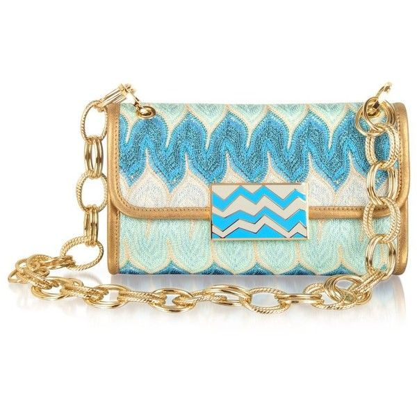 missoni metallic weave shoulder bag