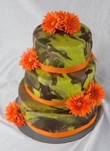 camo cake - every southern girl needs to know how to make this lol